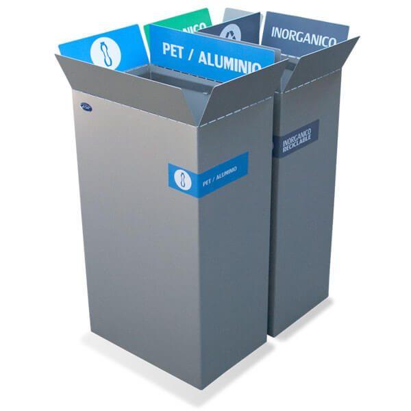 ART CENTER / Basurero ecologico Box