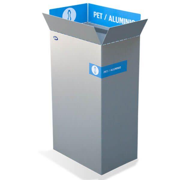 ART CENTER / Basurero ecologico box papel