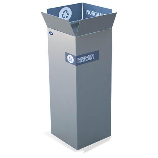 ART CENTER / Basurero ecologico box inorganico