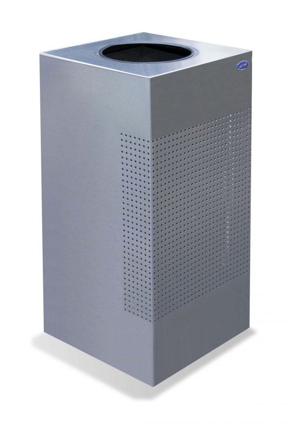 ART CENTER / Basurero Cubo Punzonado de acero inoxidable