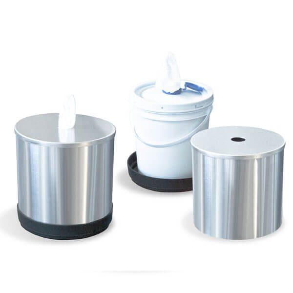 ART CENTER / Despachador de toallas húmedas desinfectantes para mesa